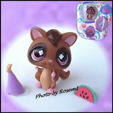 2007 Littlest Pet Shop 661 SUGAR GLIDER PURSE POUCH CARRIER CASE NEW WITH NO TAG