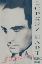 Lorenz Hart: A Poet on Broadway, Nolan, Frederick, New Book
