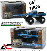 "GREENLIGHT 88011 1:43 1974 FORD F-250 ""BIGFOOT"" 66"" TIRES #1 BLUE MONSTER TRUCK"