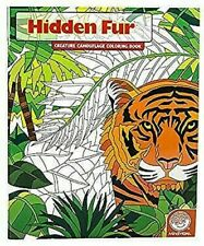 Hidden Fur (Creature Camouflage Coloring Book) by Mindware