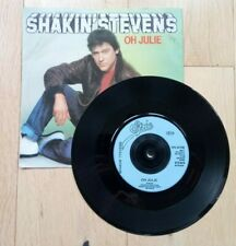 "SHAKIN' STEVENS - OH JULIE (VERY GOOD CONDITION 7"" VINYL SINGLE)"
