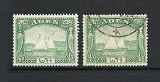 Used George VI (1936-1952) Adeni Stamps
