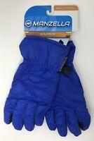Manzella Sierra Outdoor Gloves, Women's, Medium, Blue/Black