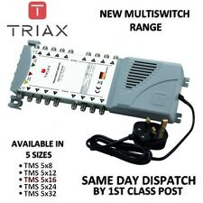 TRIAX New ECO Multiswitch Range - TMS 5 x 16 Satellite Multiswitch