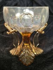 1909 SYRIA SHRINE LOUISVILLE, KY. CONVENTION Champagne GLASS with SWORDS