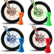 36Pcs PE Bike Motorcycle Wheel Spoke Wraps Rim Skin Cover Guard Motocross Kits