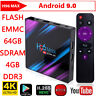 H96 Max RK3318 Smart TV BOX 4G+32/64G Android 9.0 Quad Core WiFi 4K Media Player