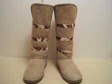 Love From Australia Women's Knee High Biege Boots AU Size 8, USA  9-9.5 NWOB