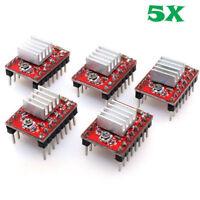 5Pcs A4988 Motor Driver Breakout Board Module RepRap 3D Printer Pololu StepStick