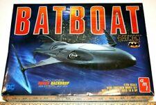"AMT Batboat from Batman Returns With Underground backdrop 13"" 1/25 Model Kit New"