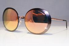 EMPORIO ARMANI Womens Mirror Designer Sunglasses Gold EA 2044 3167/4Z 20779