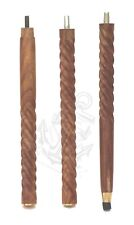3 Fold Vintage Wooden Walking Stick Wooden shaft Only Cane Collectibles Stick