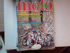 moto verte n59 mars79 tout sur paris dakar trois 125 cross