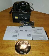 Nikon COOLPIX L100 10.0MP Digital Camera Black Original Box Paperwork CD Strap