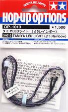 Tamiya 54013 Rainbow LED Lumière 5mm Arcobaleno modélisme