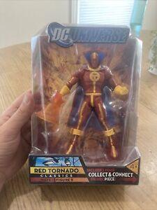 DC Universe Classics Red Tornado Wave 1 Figure 5 2007 Mattel Action Figure  NEW!
