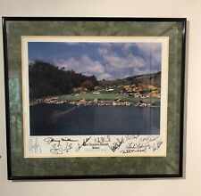 Autographed Four Seasons Resort Aviara Golf Course Picture PGA/Celebrities