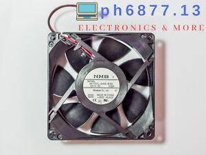 NMB 3610VL-04W-B50 Fan 92x92x25mm 12VDC 0.52A 77CFM  4500RPM Original, Brand New