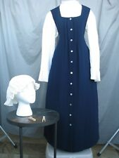 Victorian Maid Servant Dress Edwardian Costume Civil War Colonial Womens M-L