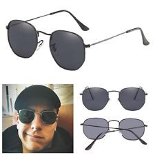 Herren Sonnenbrille Small Square Classic uv400 Polarized Sunglass Schwarz