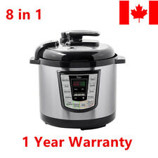 Monoprice® 6-Quart Electric Pressure Cooker 1000 Watt Stainless Steel Kitchen