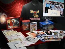 CHEVY CHASE, CANDY VACATION Signed 10 Autograph Set, COA UACC, Blu Ray DVD, MUG+