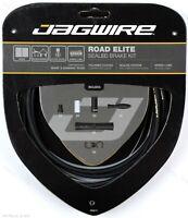 Jagwire Road Elite Frozen Black Sealed Bike Brake Cable Kit for SRAM / Shimano