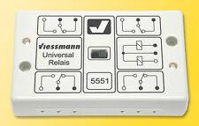 Viessmann 5551: Universal-Relais mit 4 gleichzeitig schaltenden Umschaltern