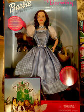 Barbie as Dorothy The Wizard of Oz 1999 Talking Collector Doll! Ruby slippers by