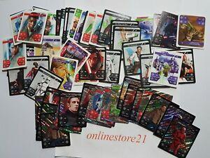 Kaufland Star Wars Karten Normal Holo Glitzer 1-48 Sticker Sammelkarten Komplett