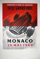 Grand Prix Monaco 1932 Race Car Poster