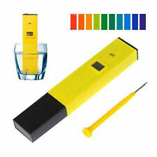 Portable Digital PH Meter Tester Pocket Pool Water Aquarium Hydroponic Wine Tool