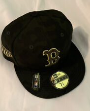 Boston Red Sox New Era Armed Forces Day Camo 59FIFTY Fitted Hat NWT 7 1/4