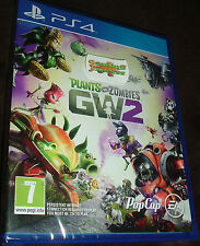 Plants vs Zombies Garden Warfare 2 Playstation 4 PS4 NEW SEALED UK Stock