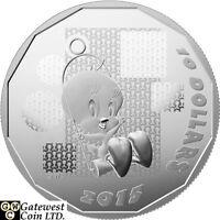 2015 $10 Fine Silver Coin-Looney Tunes (TM);'I Tawt I Taw a Putty Tat!'(17329)NT
