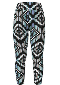 NWT Lularoe TC Tall Curvy Leggings Colorful Aztec Print