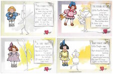 Eight Tuck Artwork Fantasy Valentine Postcards and Poems~105355