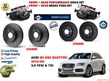 Textar Bremsenset Disques De Frein ø300 Plein Plaquettes de frein arrière audi a4 a5 q5