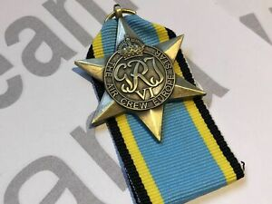 REDUCED TO CLEAR, Replica Air Crew Europe Star, WW2 Medal