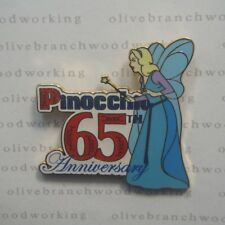 DisneyShopping.com Pinocchio 65th Anniversary BLUE FAIRY Disney Commerative Pin