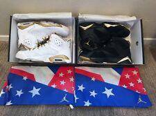 Air Jordan Golden Moment Pack vi vii retro GMP moments gold medal dmp Size 11