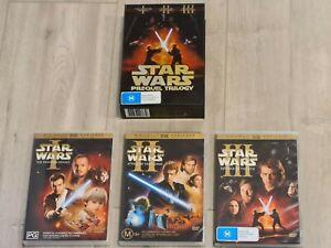 Star Wars Prequel Trilogy 6 Disc Box Set DVD FAST POST