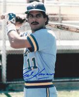 1982 BREWERS Ed Romero signed photo 8x10 AUTO Autographed Milwaukee