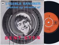 BENT STEN Lyseblå Bananer Danish EP 45PS 1967 Quarks