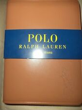 NEW RALPH LAUREN POLO BROWN LEATHER JOURNAL BIG PONY BOOK DIARY
