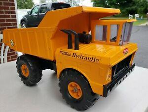 Vintage Orange Mighty Tonka Hydraulic Dump Truck