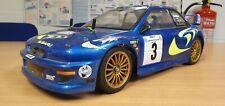 Tamiya TA02 Subaru Impreza Hobbywing Sin escobillas Rally De Trabajo