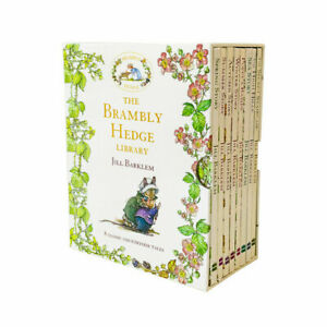 The Brambley Hedge Library 8 Books Collection Box Set by Jill Barklem