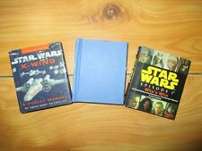 Lot 3 Star Wars mini Books pop-up collectors X-WING included