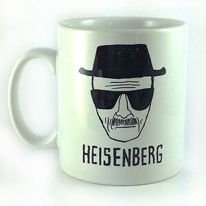 NEW HEISENBERG BREAKING BAD GIFT MUG CUP PRESENT WALTER WHITE POLICE SKETCH